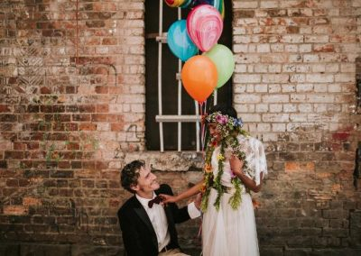 Good Day Rentals Colourful wedding