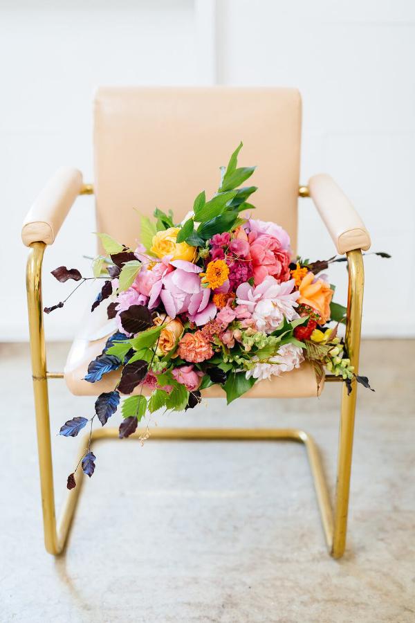 Brass+vintage+chair+hire