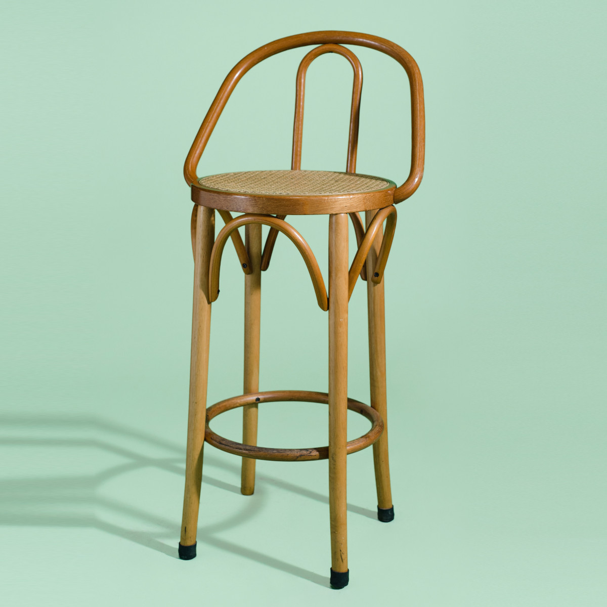BA006-Bentwood Bar Stool