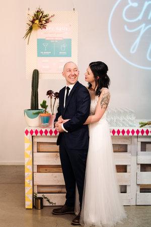 Good Day Club Mid century wedding