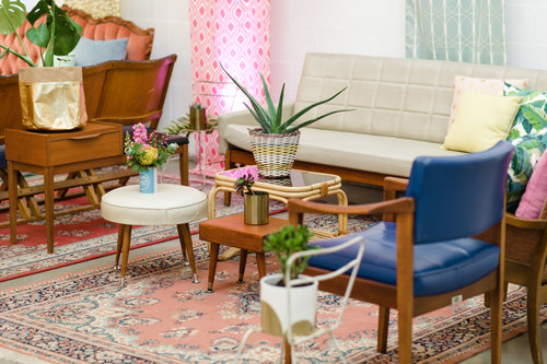Good Day Club Mid century wedding