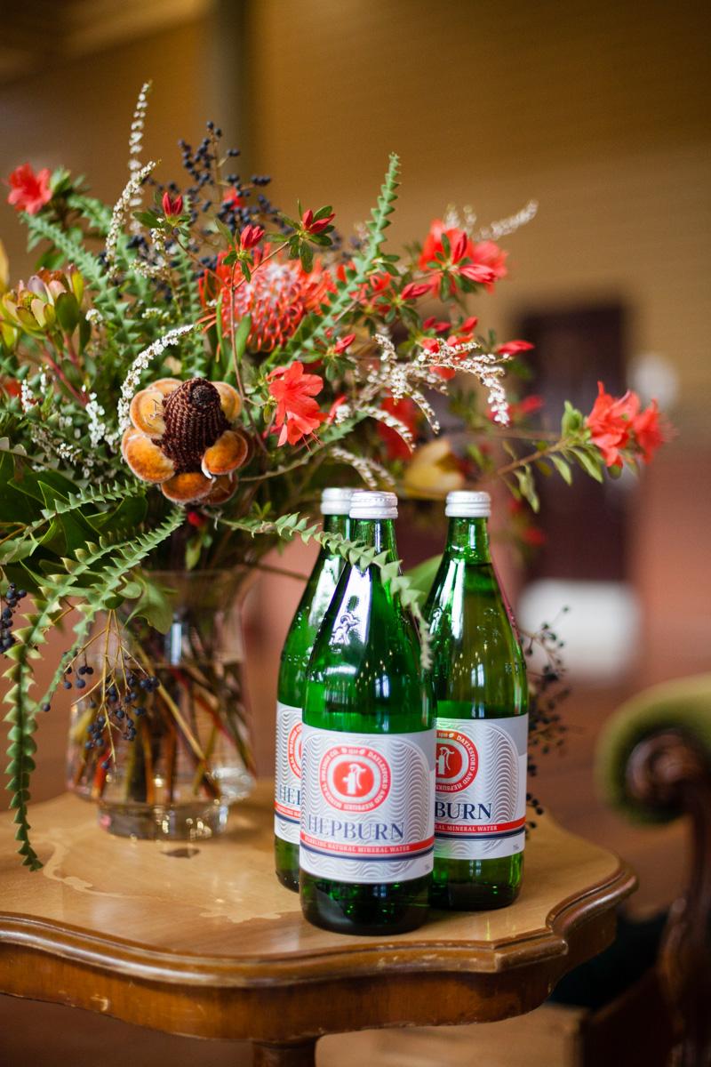 Mineral springs co bottles event