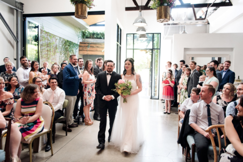 Good Day Club Mid century wedding at two ton max