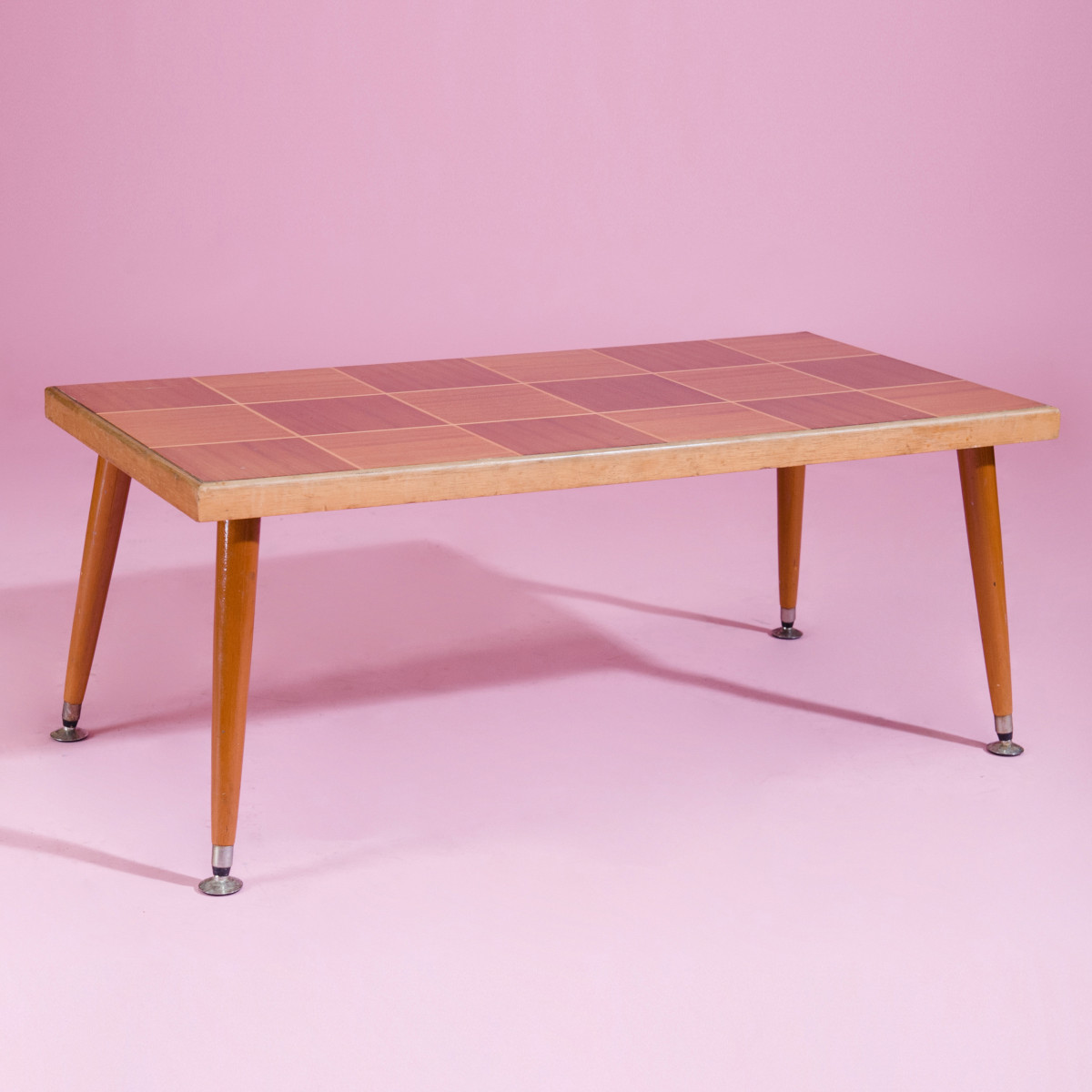 TO003- checker board coffee table-1