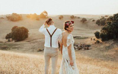 WedShed – Erana + Zane – Forest chapel Ranch wedding