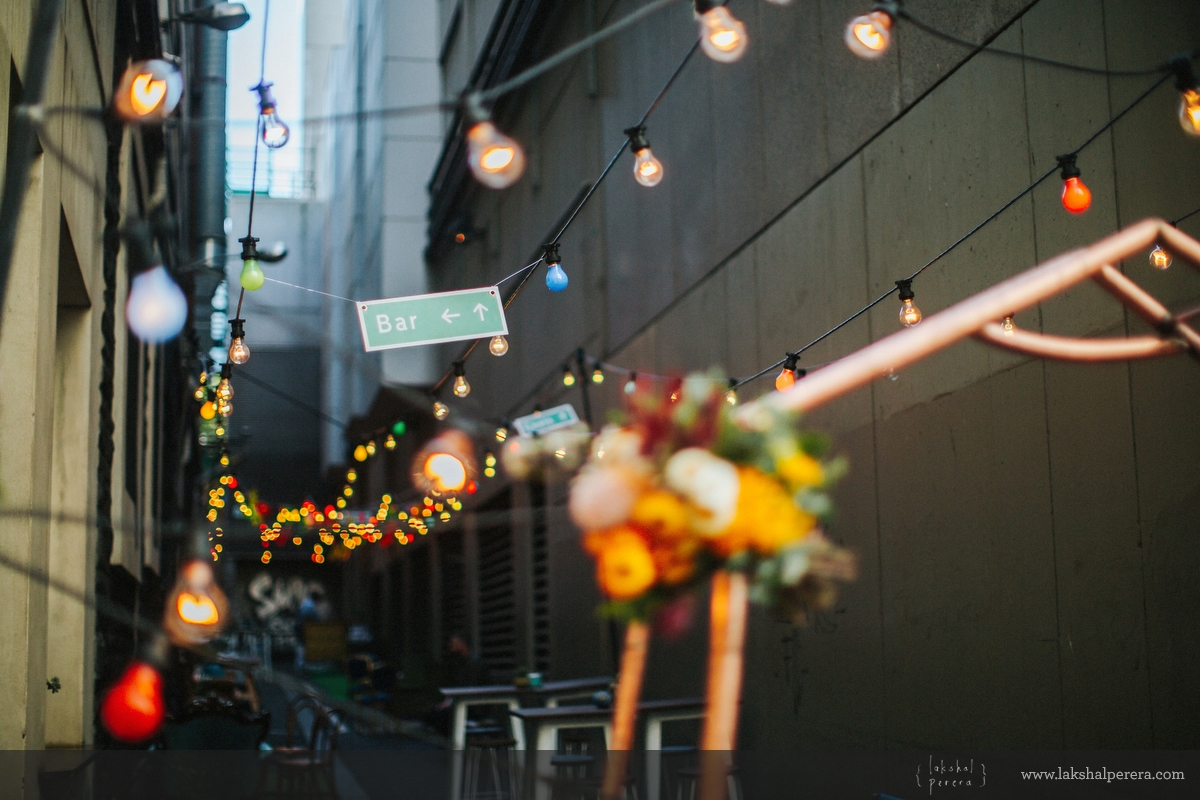 Good Day Club Melbourne Laneway Wedding