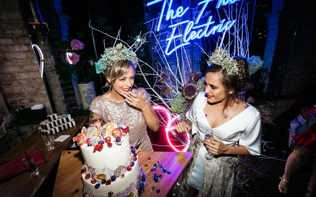 Hello May – Teegan + Mahatia's Melbourne Midnight Wedding