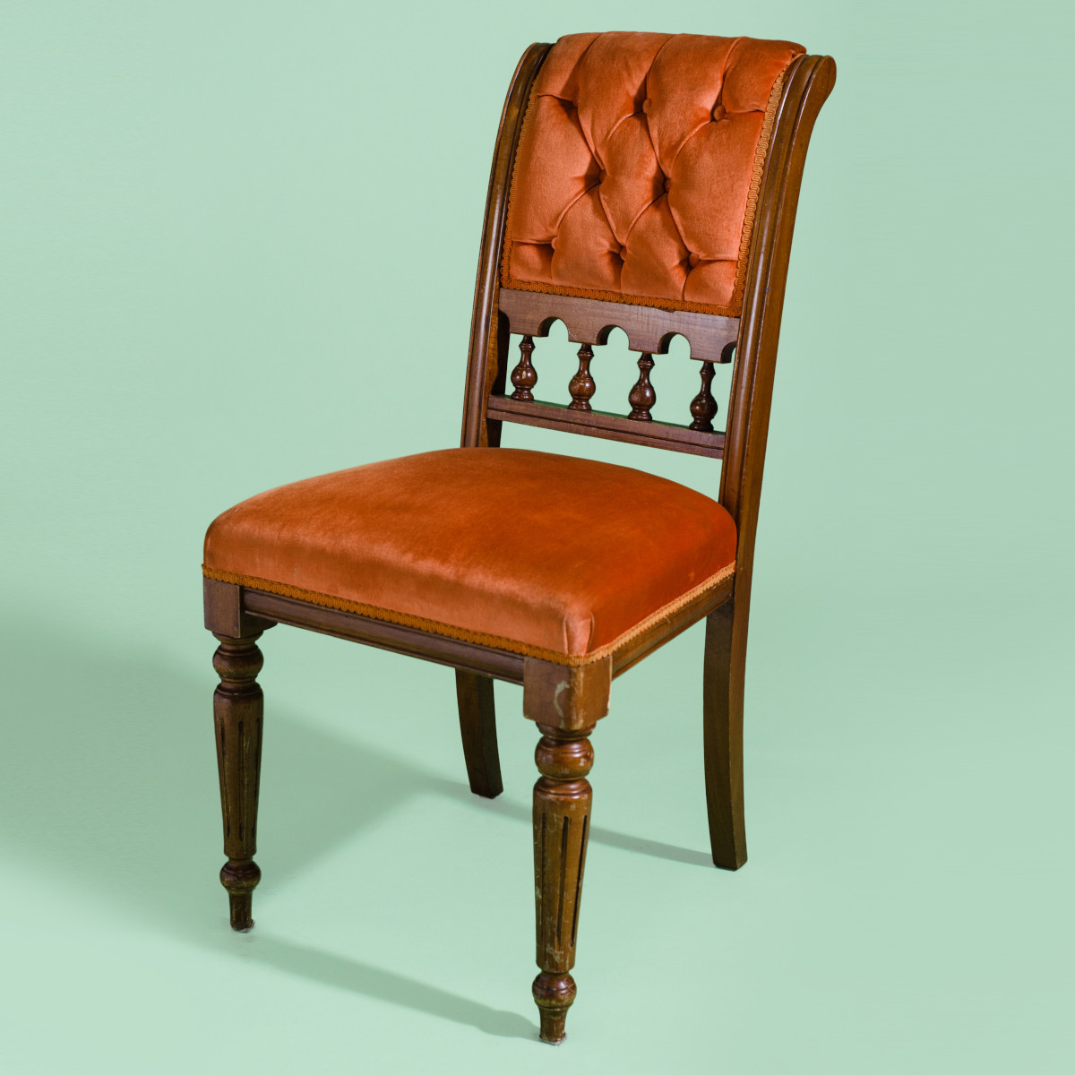 CH084- Tammy Taylor Tangerine Dining Chair