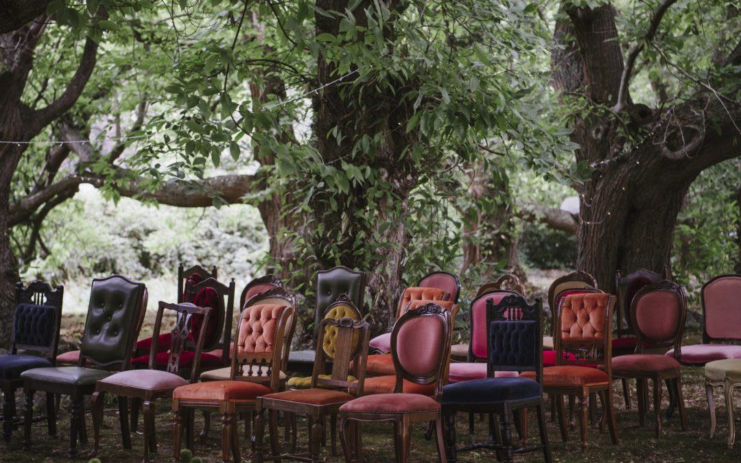 Secret Garden vintage wedding
