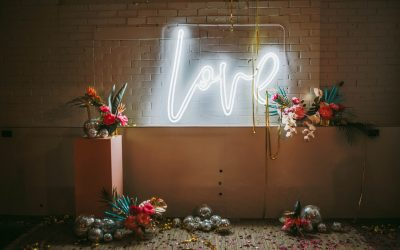 Industrial bold and bright wedding for Frank + Scout