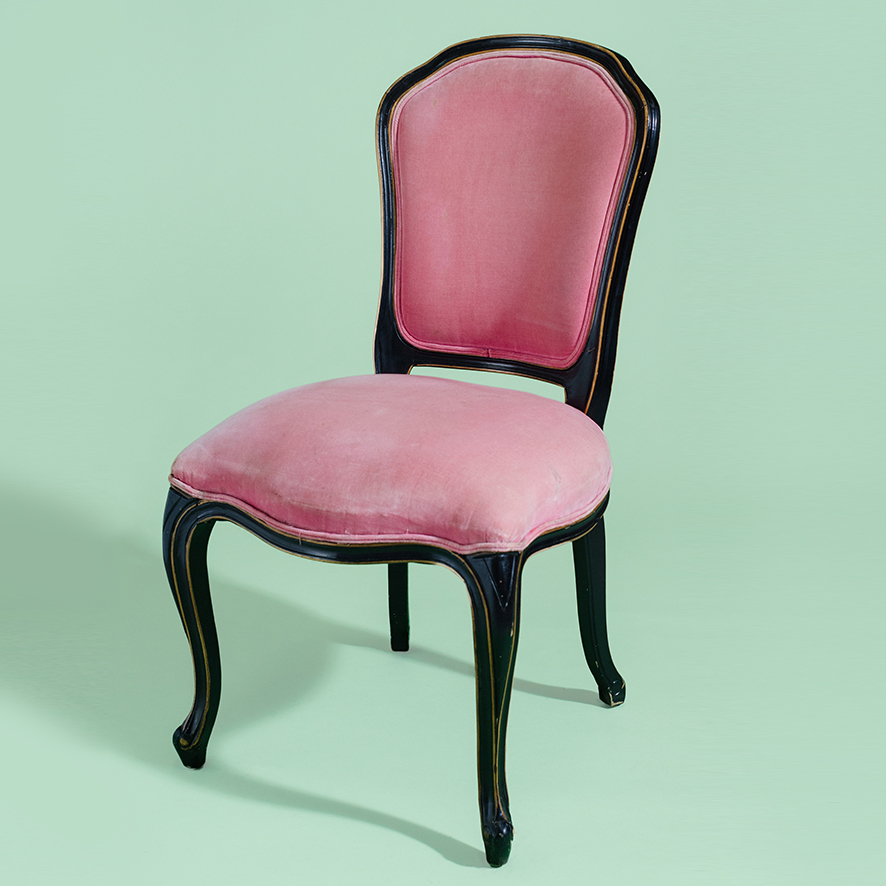 Frenchy Pink Dining Chair-CH039