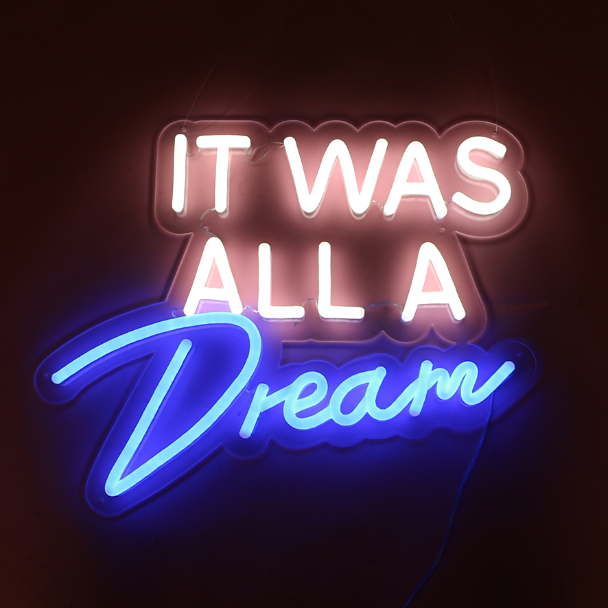It was all a dream sign 1-NS004