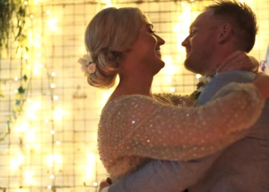 Native Weddings – Martha + Mike's fun warehouse wedding