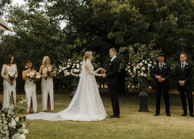 Farewell Fiance – Hannah + Ben's modern english wedding in the Grampians