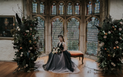 Polka Dot Bride – Decadent + Dramatic Moody styled shoot