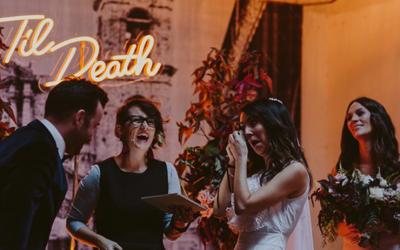 Hello May – Ashley + Josh's Melbourne Wedding