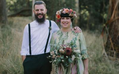 Hello May – Lana + Clem's greenery filled wedding