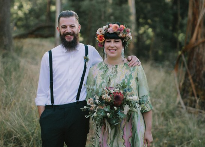 Hello May – Lana + Clem's greenery filled wedding