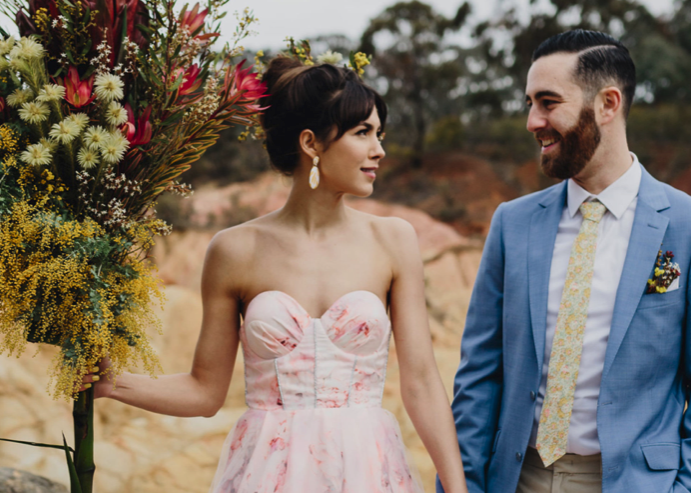 Nouba – Retro Australiana meets Palm Springs styled shoot