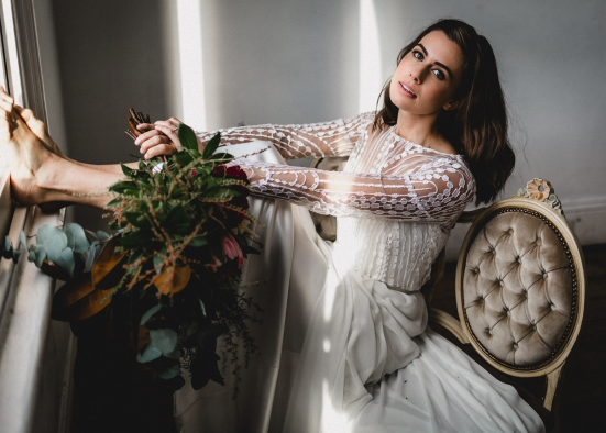 Polka Dot Bride – Modern wedding with sleek details styled shoot