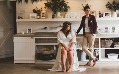 Duett – Amy Tudhope & Jessica Stainsby's country barn wedding
