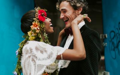 Nouba – Colour explosion styled wedding shoot