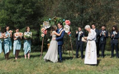 Nouba – Viv and Lachy's Collingwood Children's Farm wedding