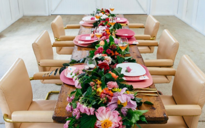 Party with LENZO – Flower filled wedding shoot