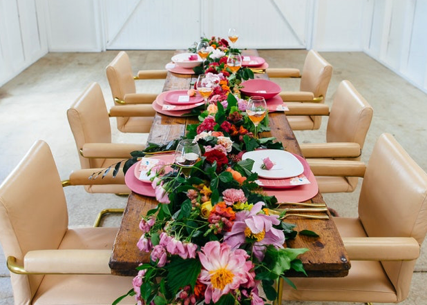 Party with LENZO – Flower filled styled wedding shoot
