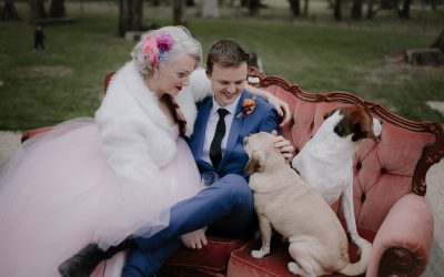 Vintage country glam wedding for Abbey + Kacper