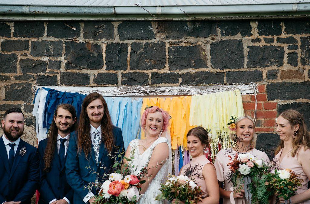 Hooray – Kate + Jace's DIY barn wedding