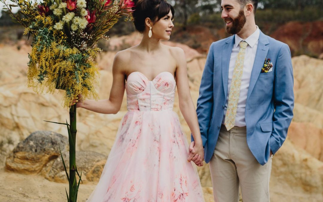 Retro Australiana x Palm Springs wedding inspiration