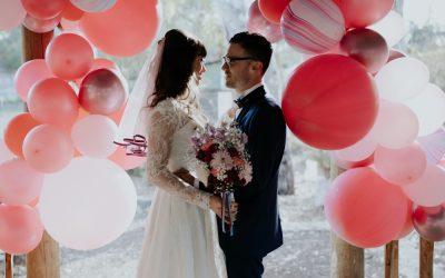 60s inspired Melbourne wedding