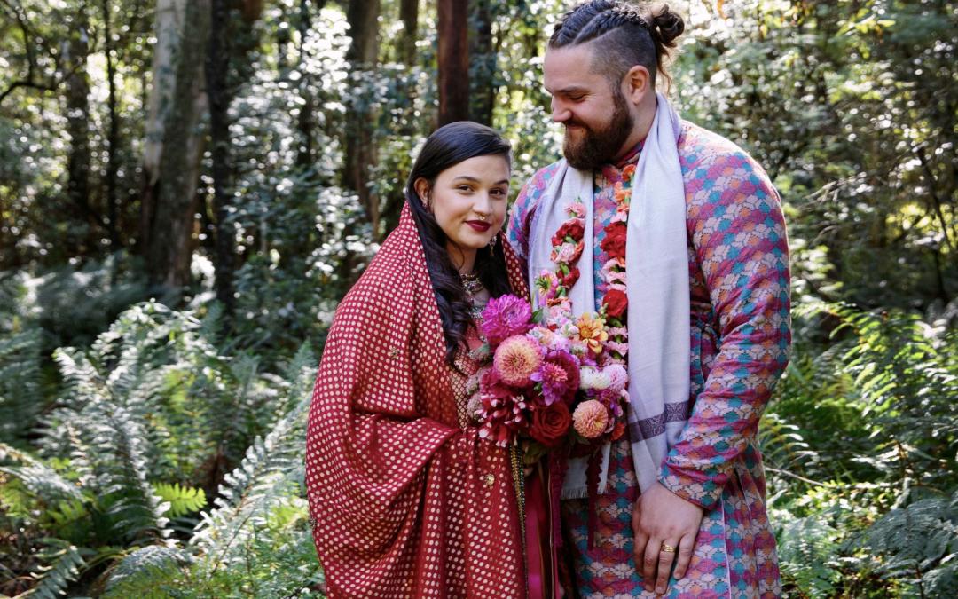 Nouba – Jeremy + India's warm colourful wedding
