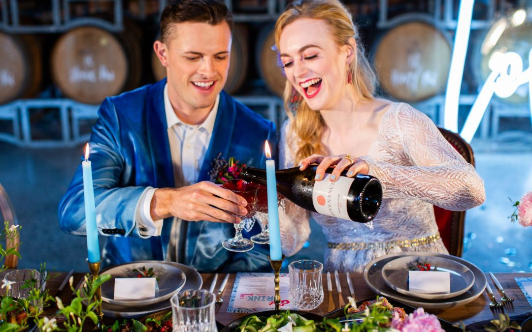 Wedshed – Provenance Wines Winery styled shoot