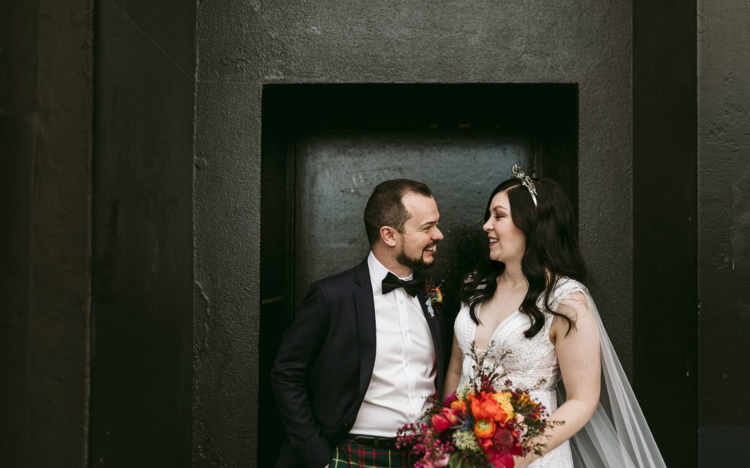 Hooray! – Carolyn + Matthew's Bold and Bright Melbourne Wedding