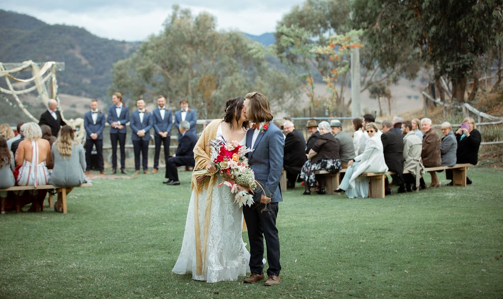 WedShed – Kali + Darren's Howqua wedding