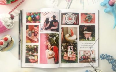 Candy Land Carnival wedding published in Rock n Roll Bride