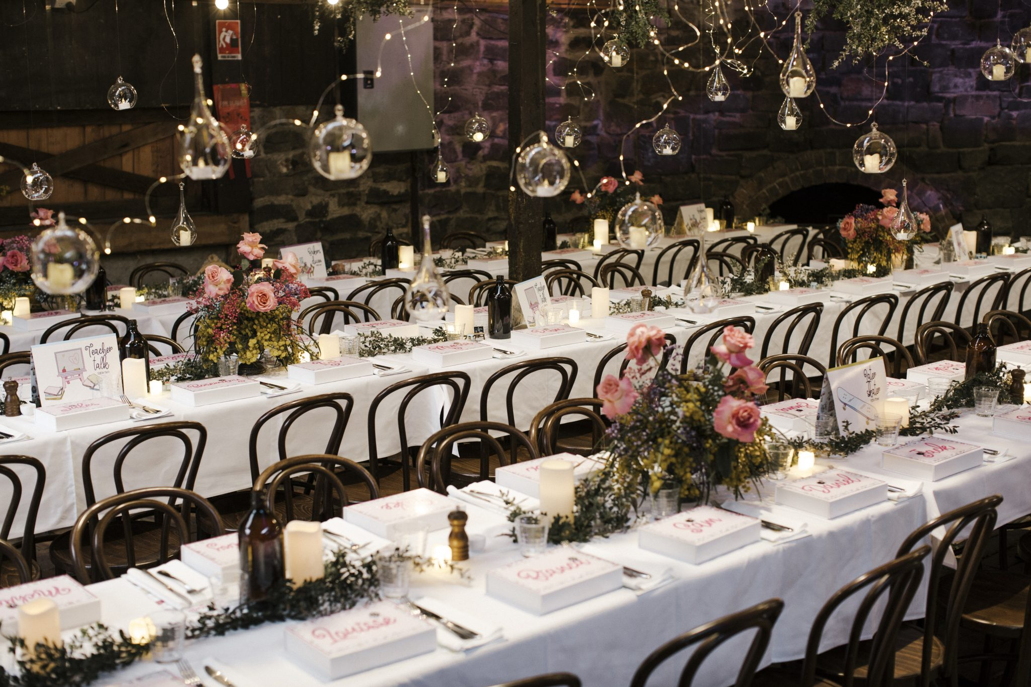 Whimsical Dollhouse Wedding Reception