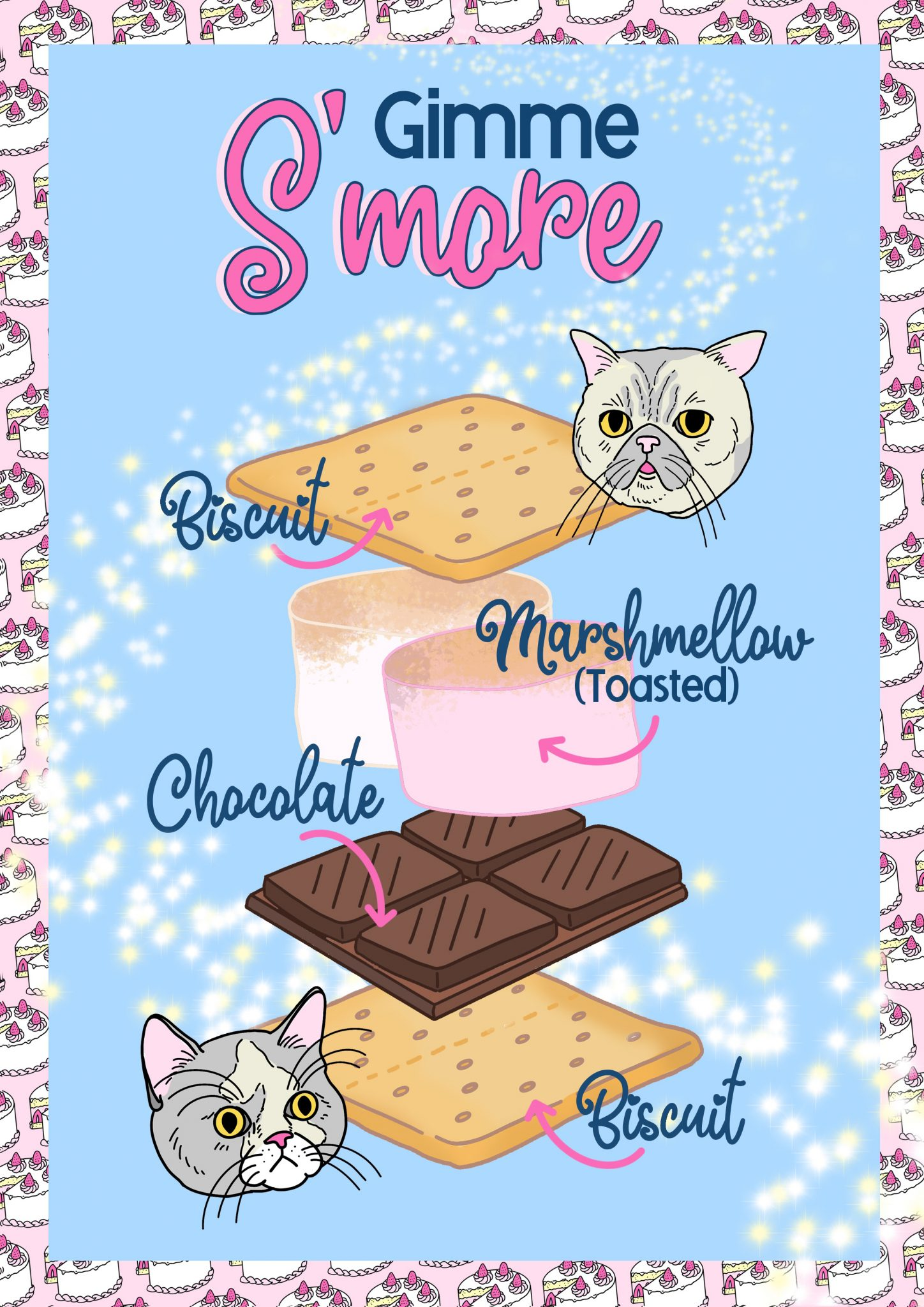 Good Day Club Smores Graphics