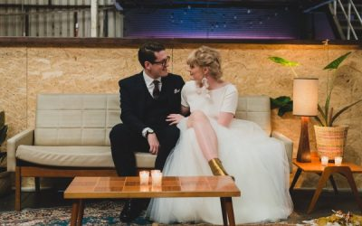 Polka Dot Bride – Melissa and Chris' Warehouse Wedding
