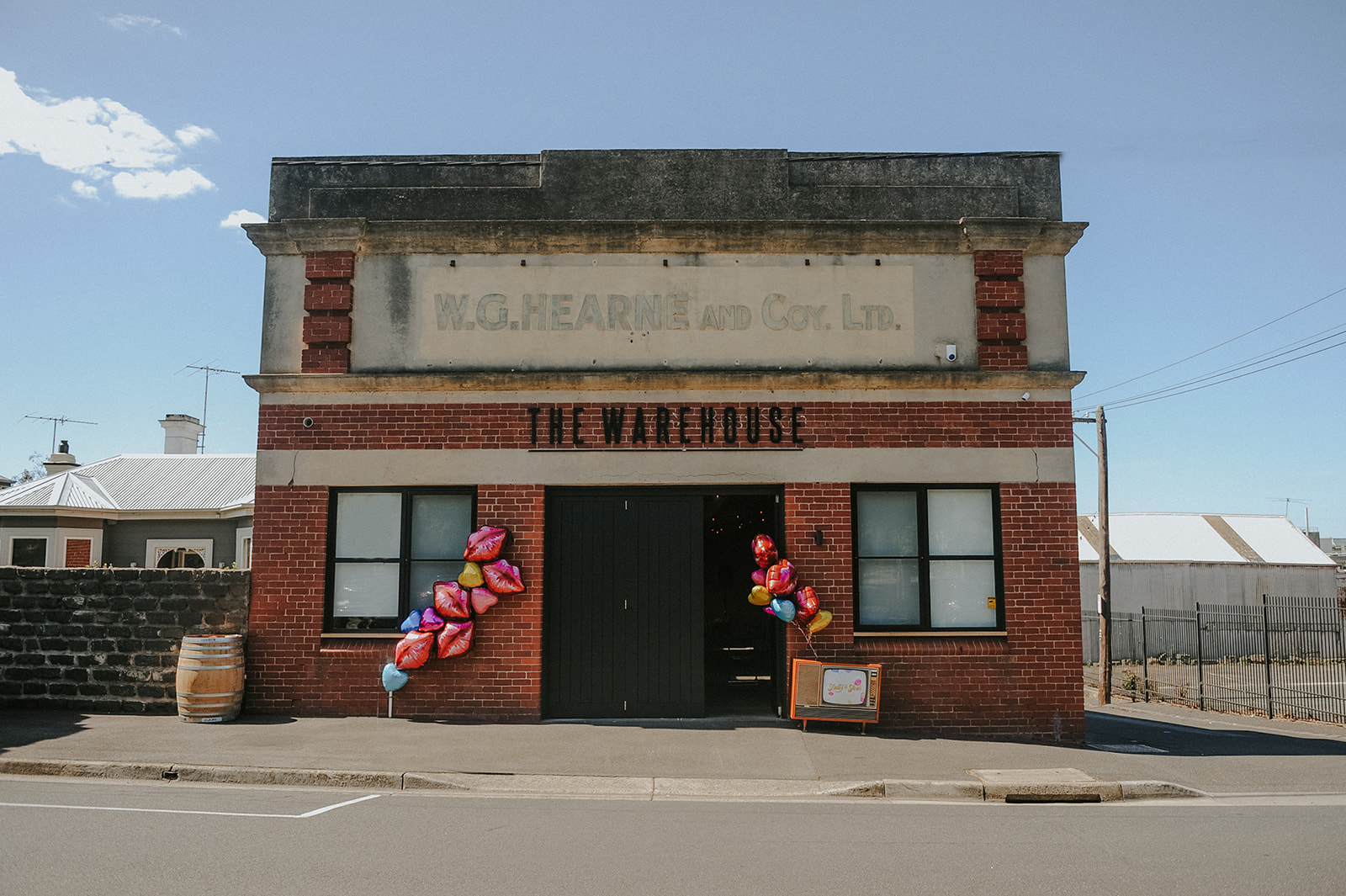 the warehouse Geelong summer wedding