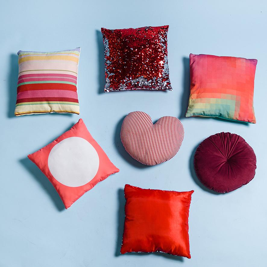 pink velvet classic sofa