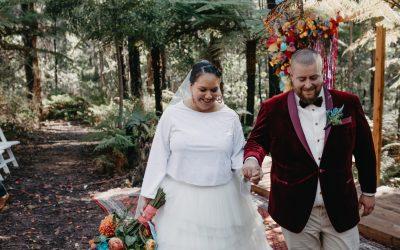 Polka Dot Bride – Lydia and Matt's Bright Forest Wedding